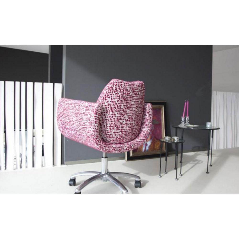 fauteuils de bureau meubles et rangements fama fauteuil pivotant r glable magno inside75. Black Bedroom Furniture Sets. Home Design Ideas
