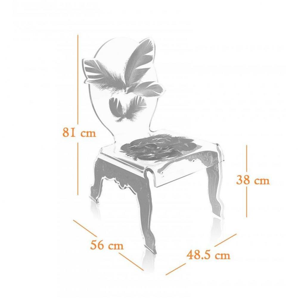 chaise design ergonomique et stylis e au meilleur prix acrila fauteuil plume blanc plexi design. Black Bedroom Furniture Sets. Home Design Ideas