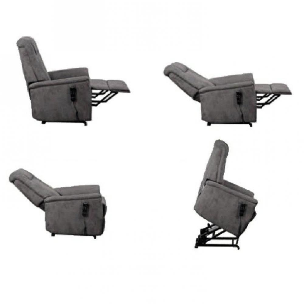 fauteuils relax et design au meilleur prix celeste fauteuil relax et releveur lectrique cuir. Black Bedroom Furniture Sets. Home Design Ideas