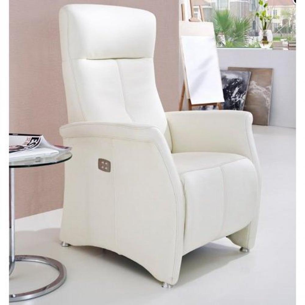 fauteuils relax et design au meilleur prix kingston fauteuil relax lectrique cuir vachette. Black Bedroom Furniture Sets. Home Design Ideas