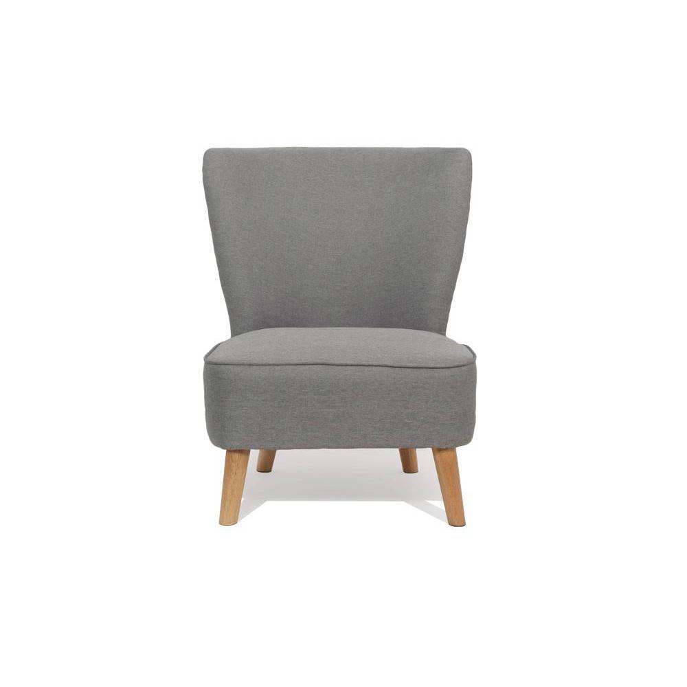 fauteuil design au meilleur prix fauteuil scandinave s t gris silver inside75. Black Bedroom Furniture Sets. Home Design Ideas