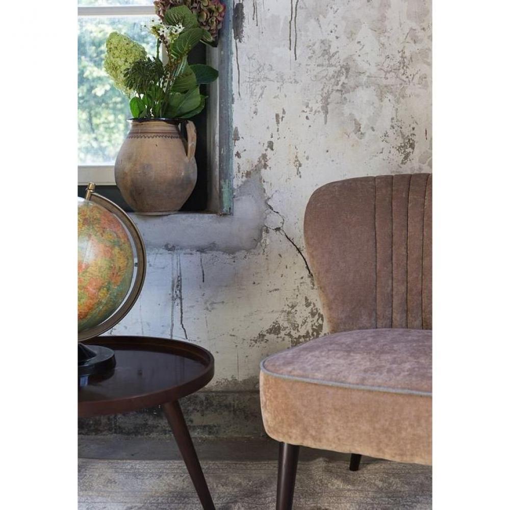 chauffeuses canap s et convertibles dutchbone petit fauteuil smoker tissu beige inside75. Black Bedroom Furniture Sets. Home Design Ideas