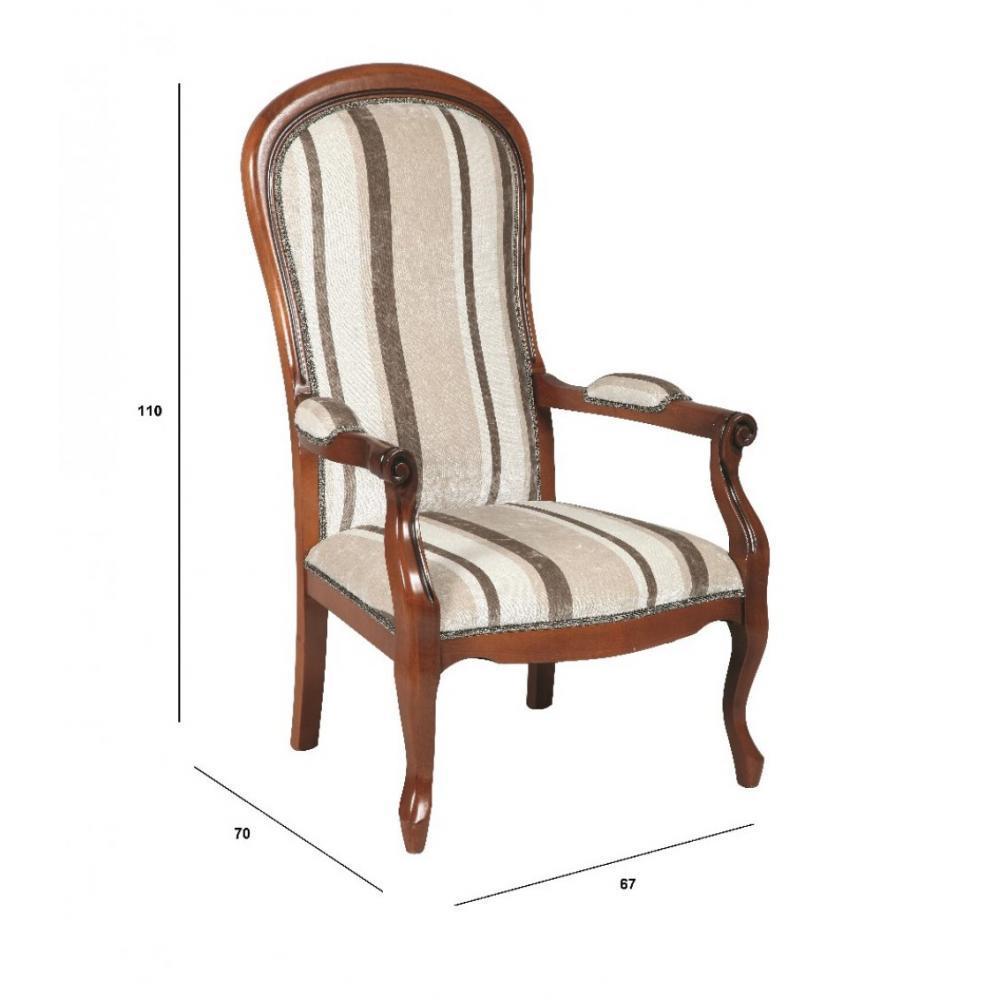 Fauteuils poufs design au meilleur prix fauteuil voltaire en h tre et - Fauteuil voltaire prix ...