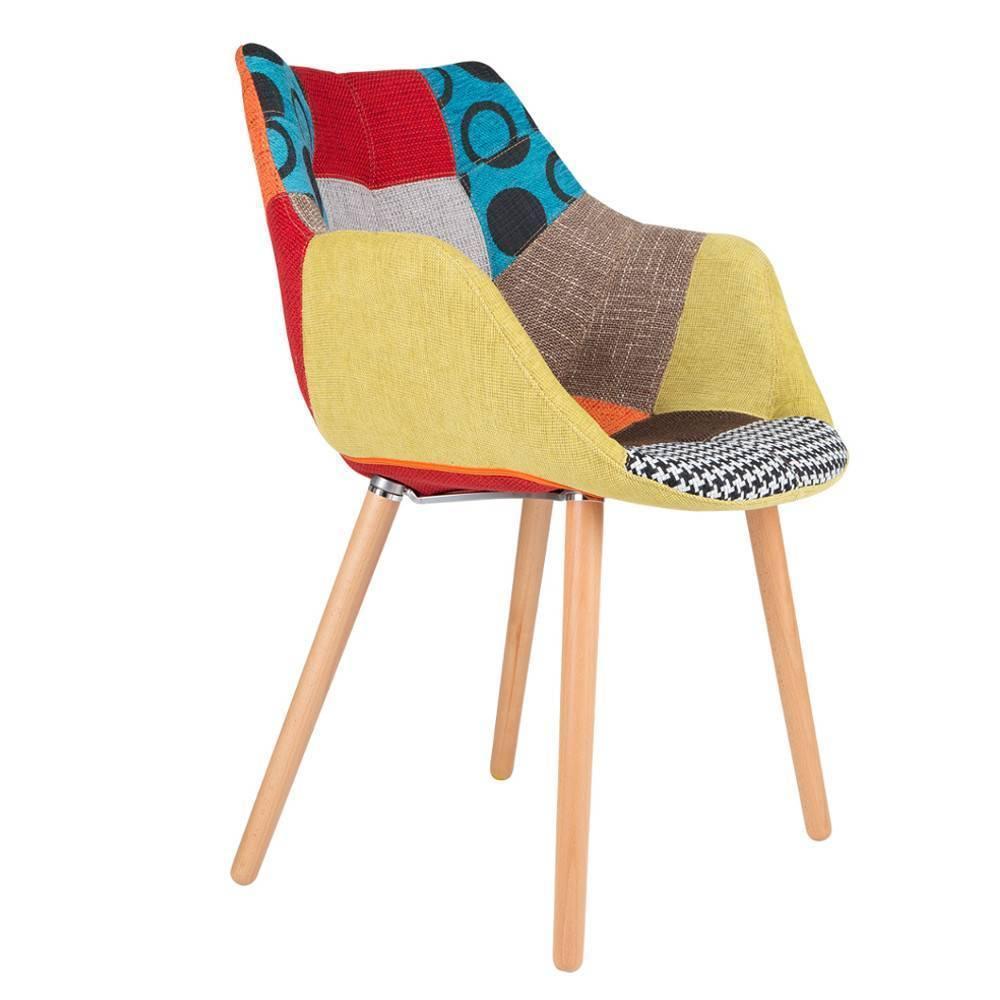 Fauteuils design canap s et convertibles zuiver fauteuil twelve patchwork - Fauteuil design patchwork ...
