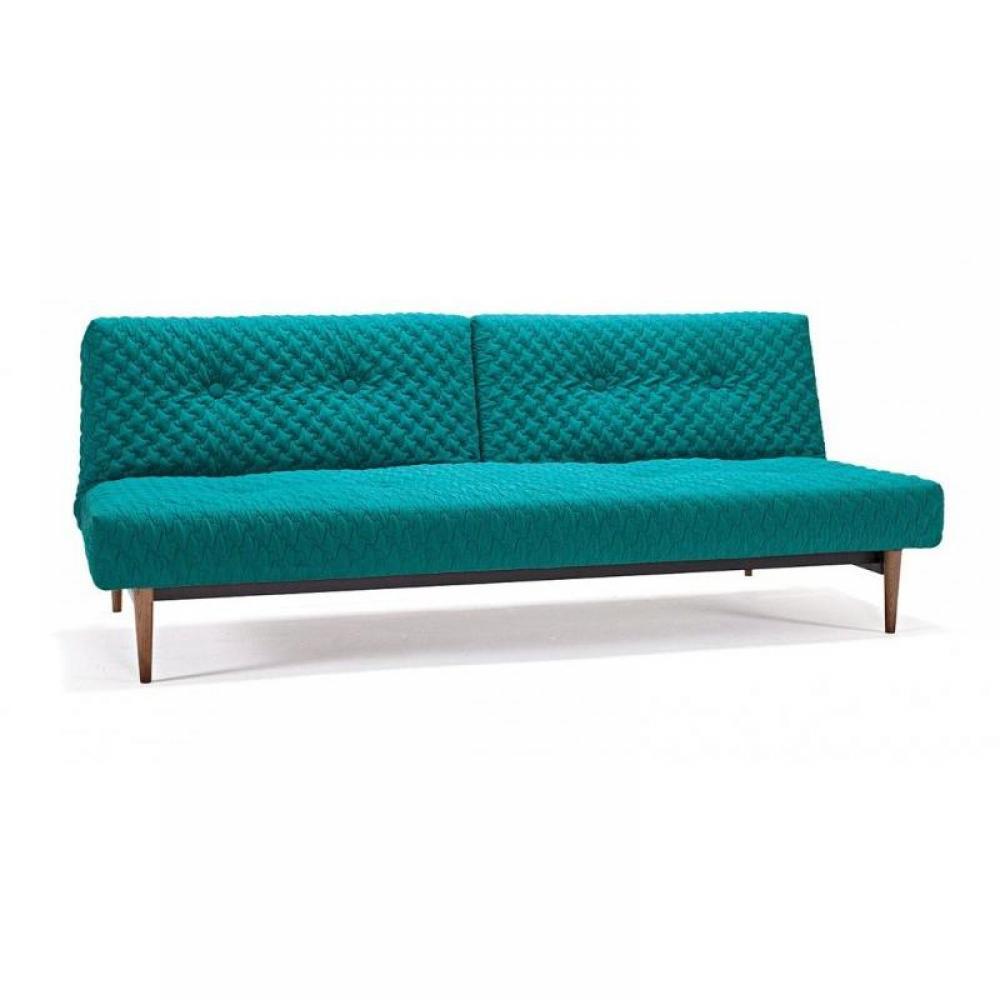 canap s convertibles design canap s rapido canap fiftynine coz vert pieds noyer fonc. Black Bedroom Furniture Sets. Home Design Ideas