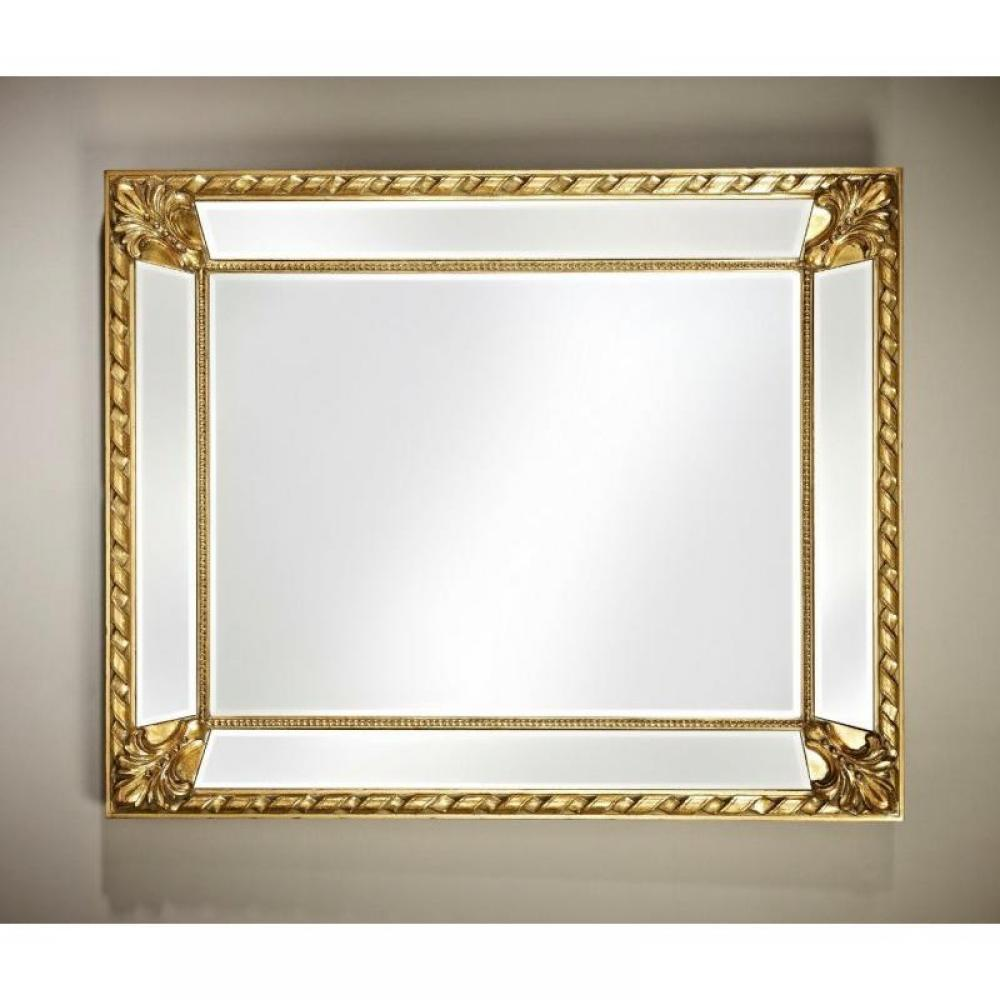 Miroirs luminaires FLUIDE Miroir mural design or