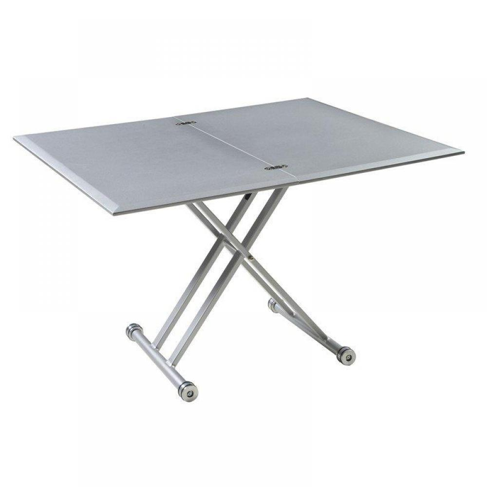 table relevable design ou classique au meilleur prix table basse free gris argent relevable. Black Bedroom Furniture Sets. Home Design Ideas