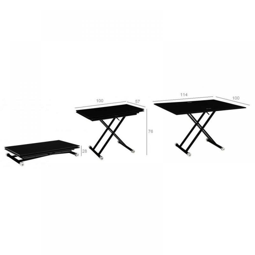 Tables relevables meubles et rangements table basse free - Petite table basse relevable ...