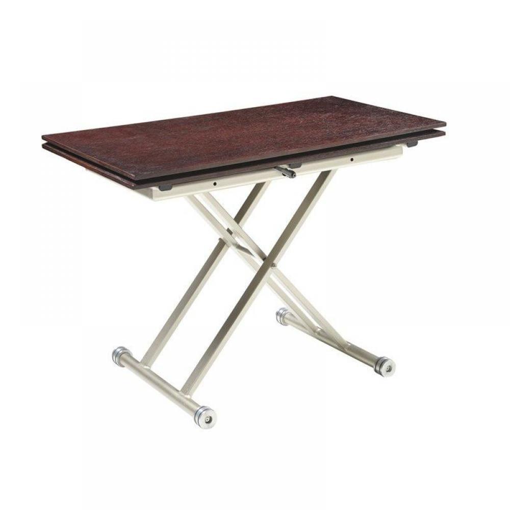 Table relevable design ou classique au meilleur prix - Table basse relevable wenge ...