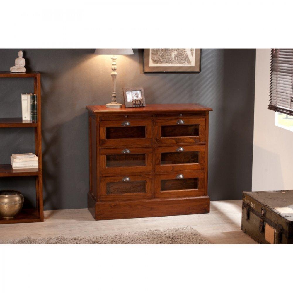 Commodes meubles et rangements grainetier lauren 6 - Commode style colonial ...