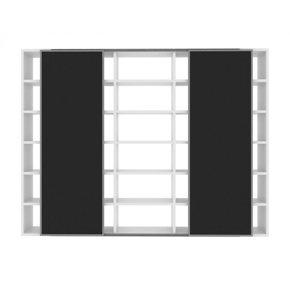 Biblioth Ques Tag Res Meubles Et Rangements Temahome Pombal  # Grande Bibliotheque Avec Porte Coulissante