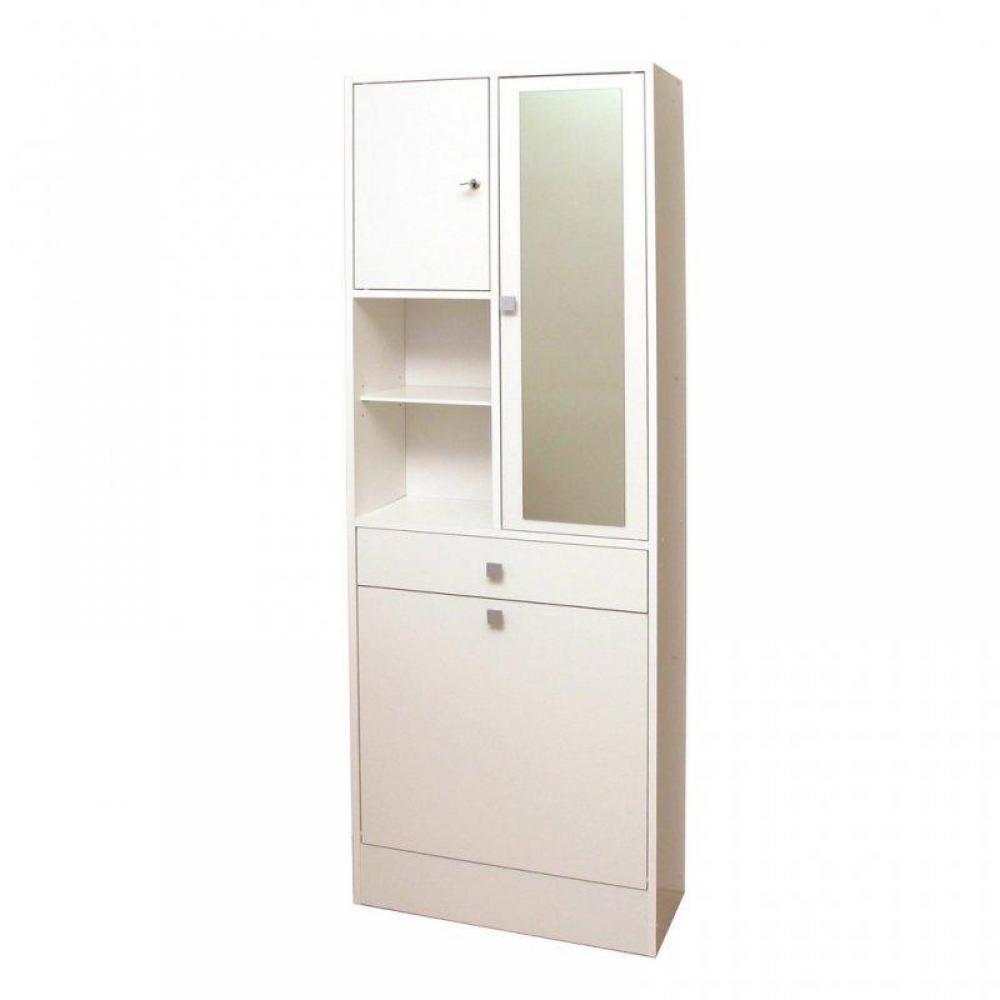 But meuble salle de bain free colonne pivotante salle de bain niches miroir blanc meuble - Ikea armoire a linge ...