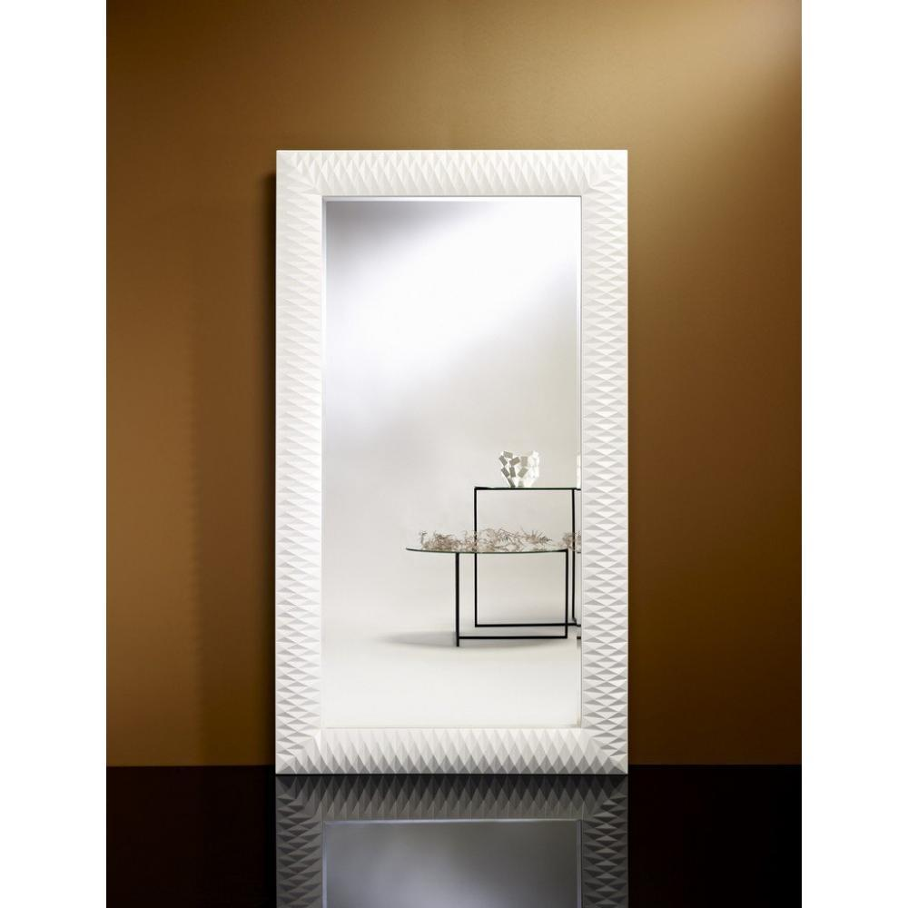 Stunning miroir horizontal mural contemporary for Grand miroir mural rectangulaire