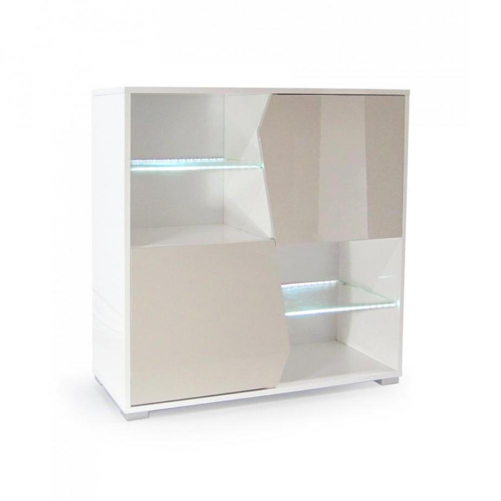 Dressings et armoires meubles et rangements armoire design hazardo laqu e b - Armoire blanche laquee ...