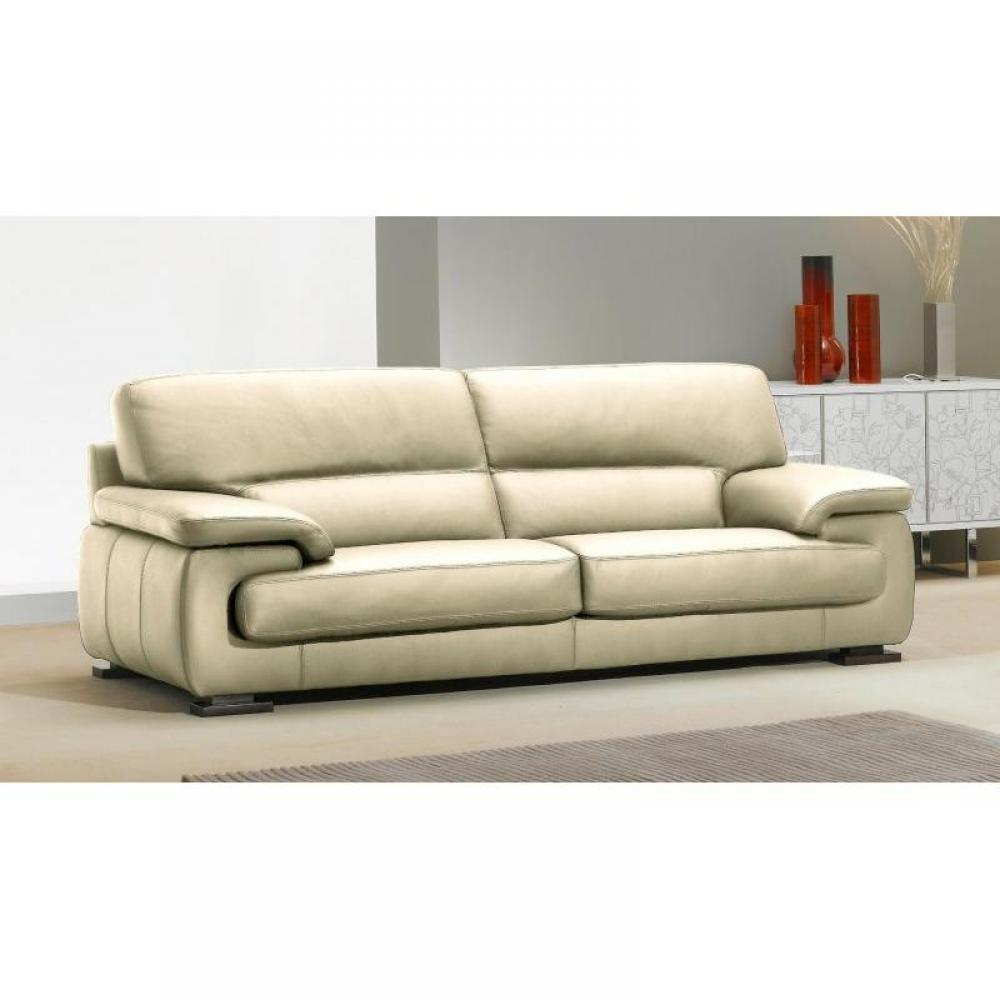 canap fixe confortable design au meilleur prix hermes canap 3 places cuir vachette inside75. Black Bedroom Furniture Sets. Home Design Ideas