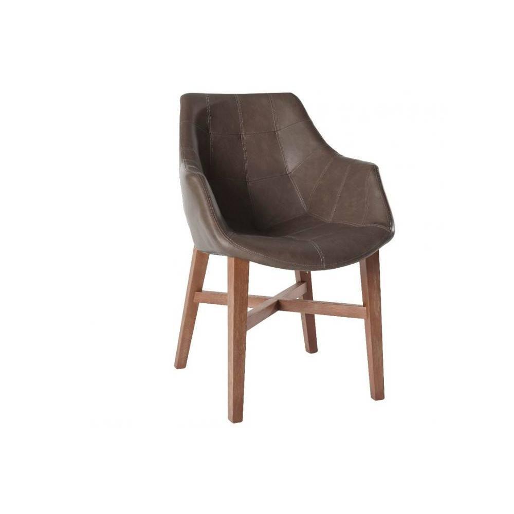 chaise design ergonomique et stylis e au meilleur prix chaise design hermes marron en bois. Black Bedroom Furniture Sets. Home Design Ideas