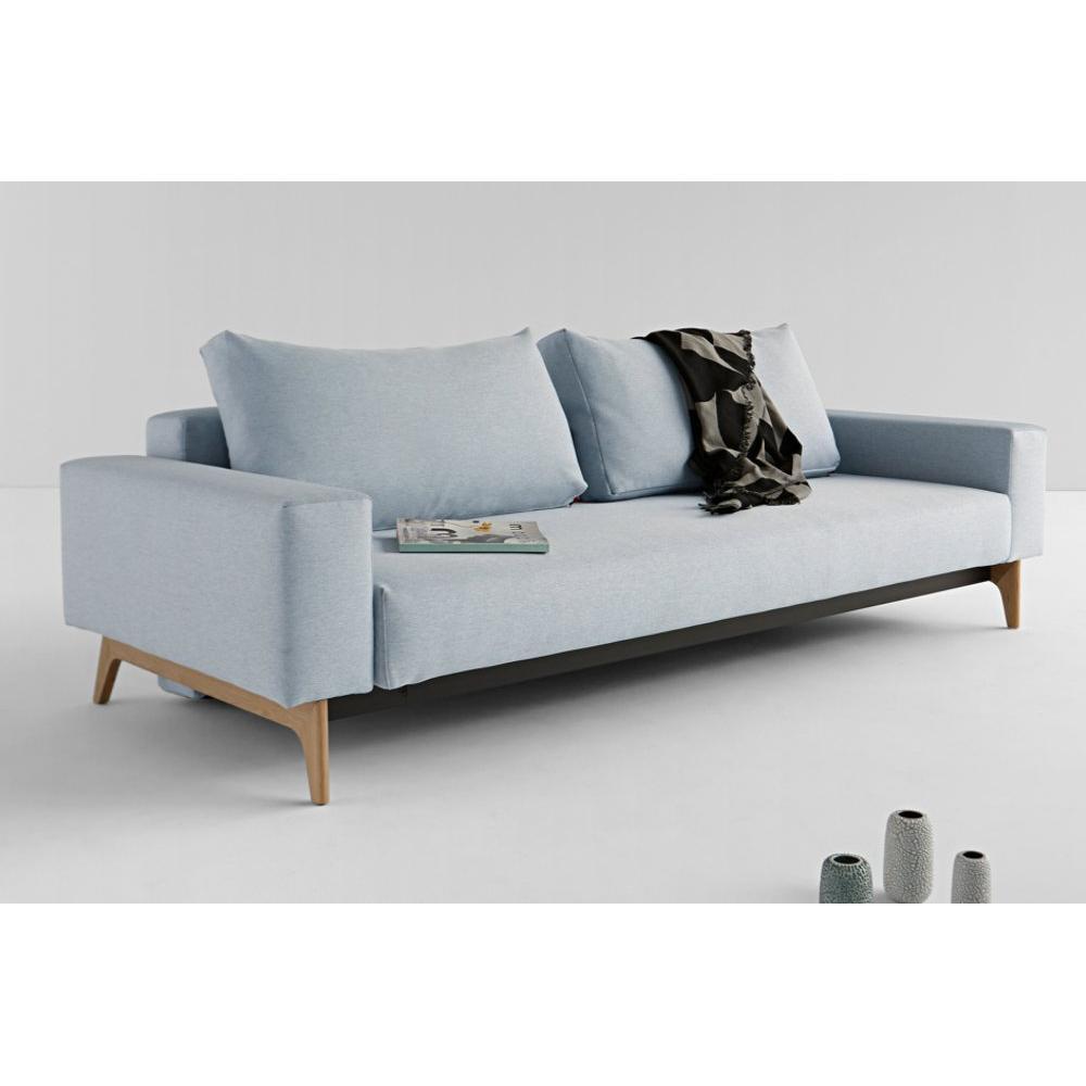 Divani letto sistema rapido armadi letto e comodini - Divano letto blu ...