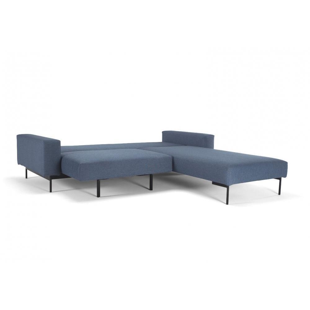 canap d 39 angle convertible au meilleur prix canap d 39 angle bragi bleu soft indigo convertible. Black Bedroom Furniture Sets. Home Design Ideas