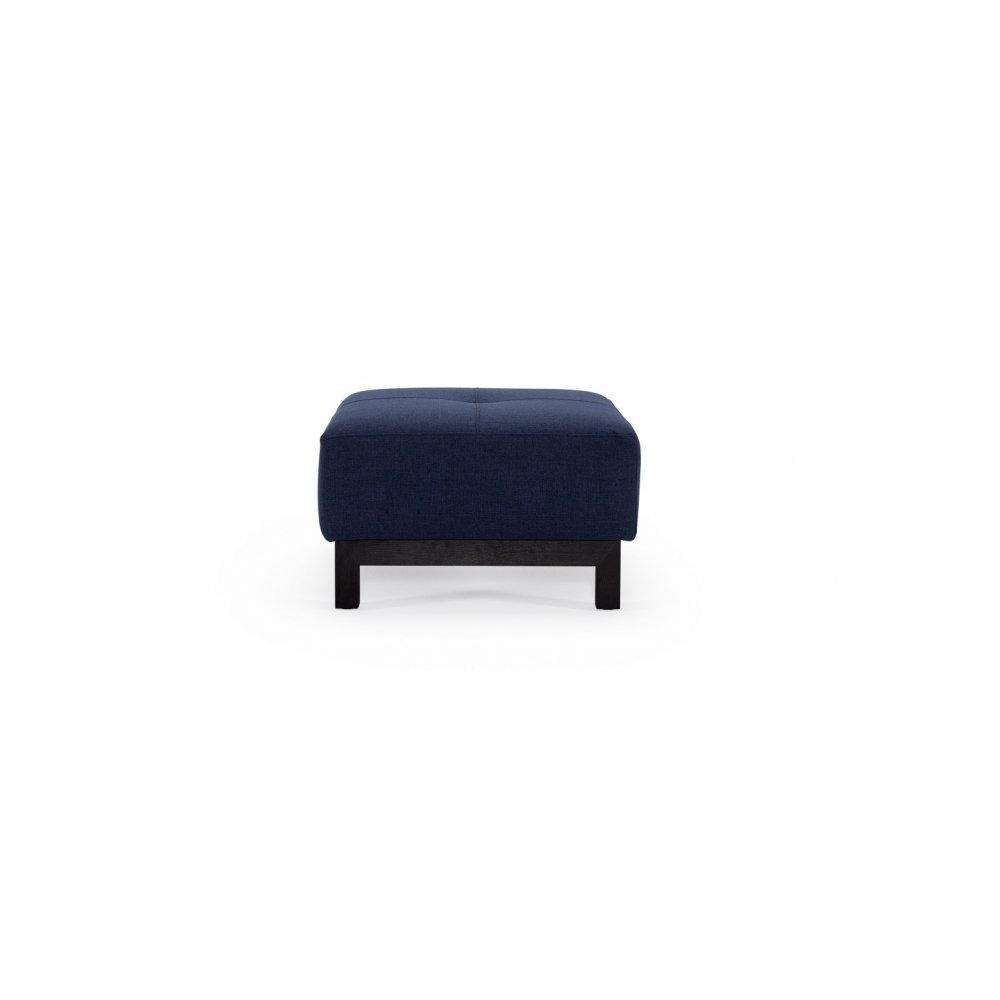 INNOVATION LIVING  Pouf design BIFROST EXCESS DELUXE bleu Mixed Dance Blue 65*65 cm