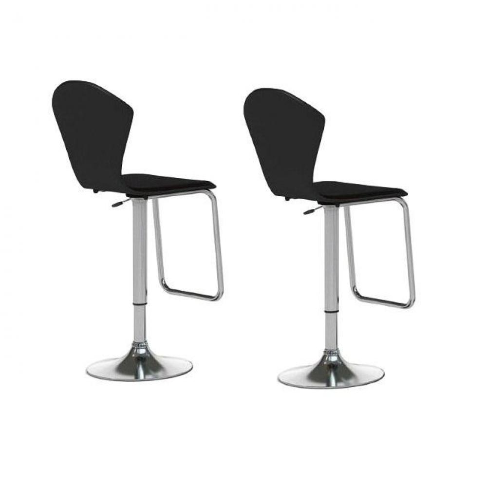 tabouret de bar design tendance retro au meilleur prix lot de 2 tabouret chaises de bar. Black Bedroom Furniture Sets. Home Design Ideas