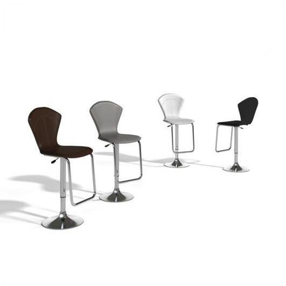 Tabouret de bar design tendance retro au meilleur prix - Chaise bar reglable ...