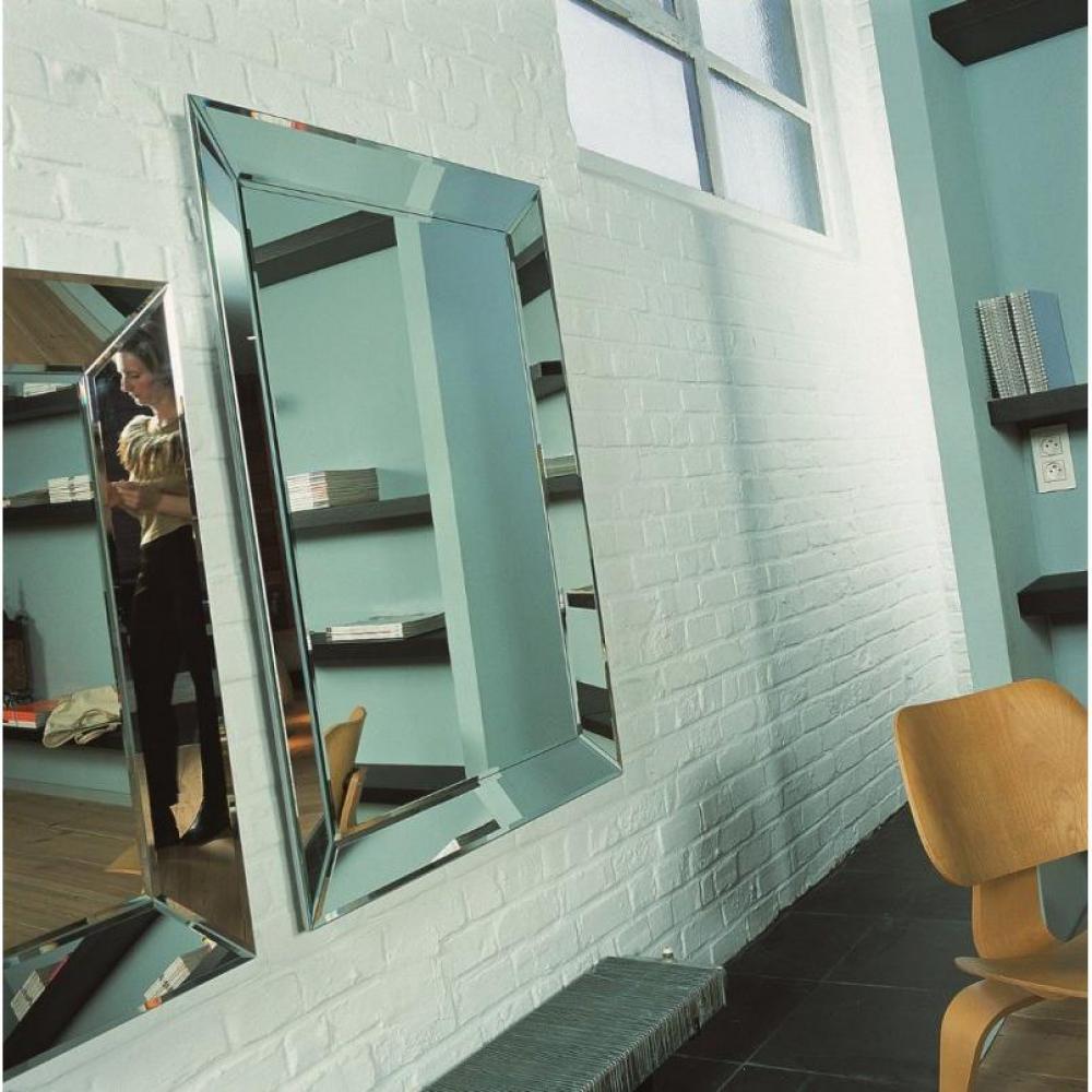 miroirs meubles et rangements keops miroir mural design grand mod le inside75. Black Bedroom Furniture Sets. Home Design Ideas