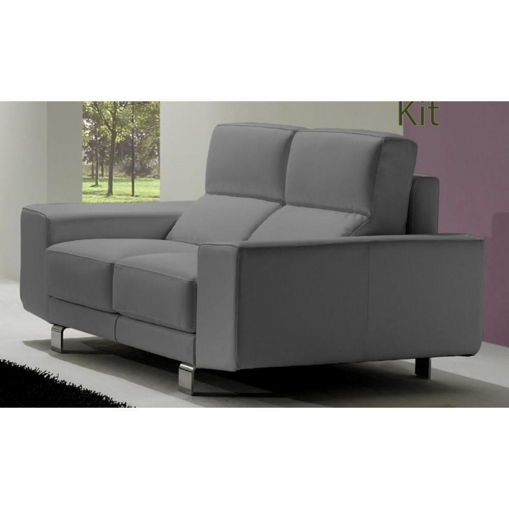 canap fixe confortable design au meilleur prix canap fixe italien kit 201 cm inside75. Black Bedroom Furniture Sets. Home Design Ideas
