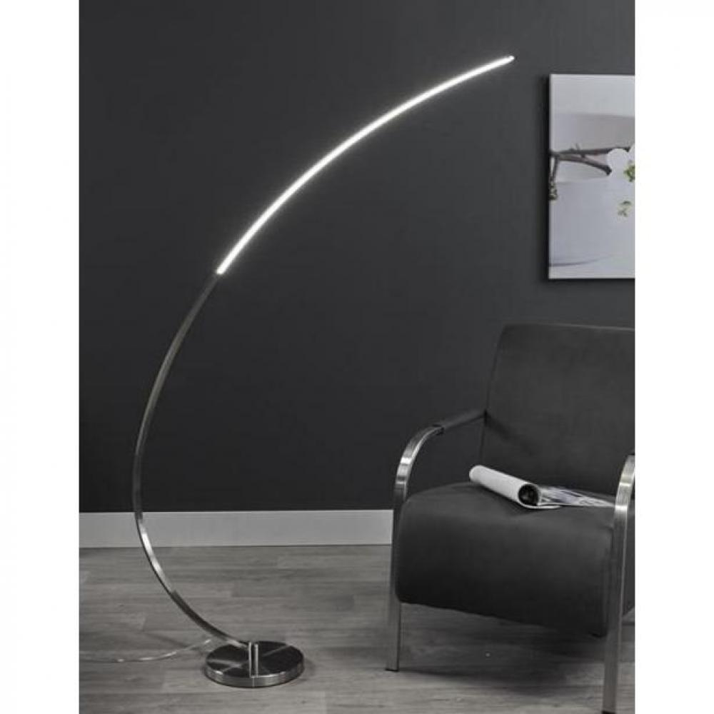 lampadaire arc lune design acier led 3 5 Luxe Lampadaire En Arc Kdh6