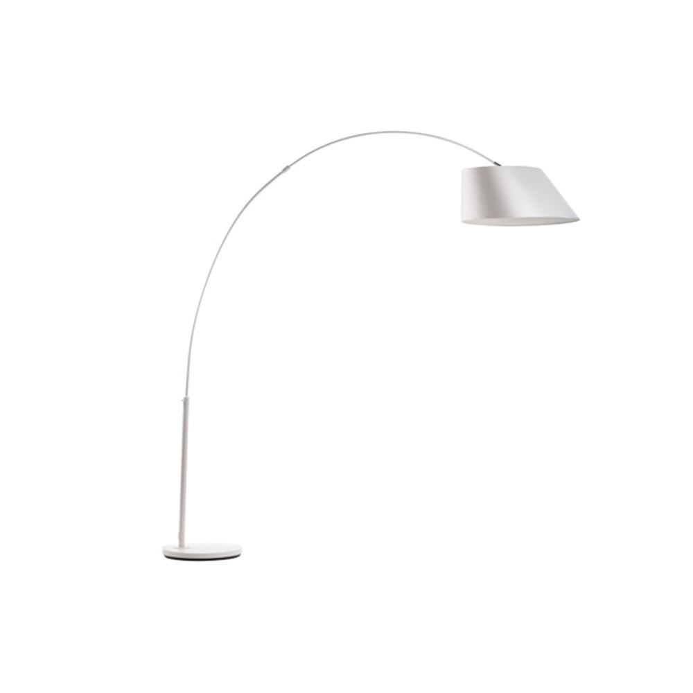 Lampadaires luminaires lampadaire arc blanc de zuiver - Lampadaire arc blanc ...