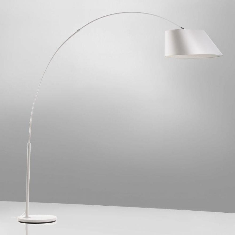 Lampadaires Luminaires Lampadaire Arc Blanc De Zuiver Inside75