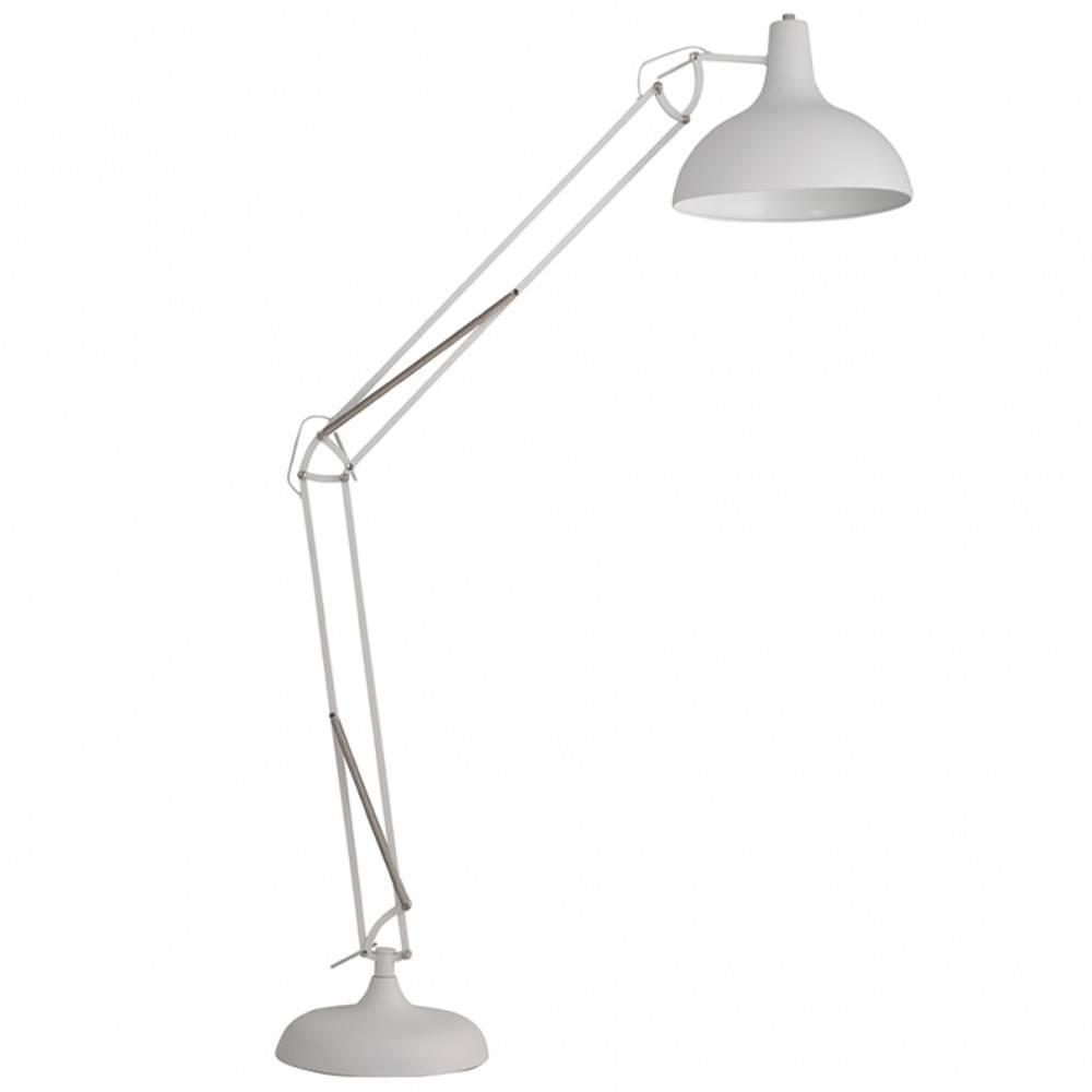 WHITE LABEL LIVING lampadaire OFFICE blanc