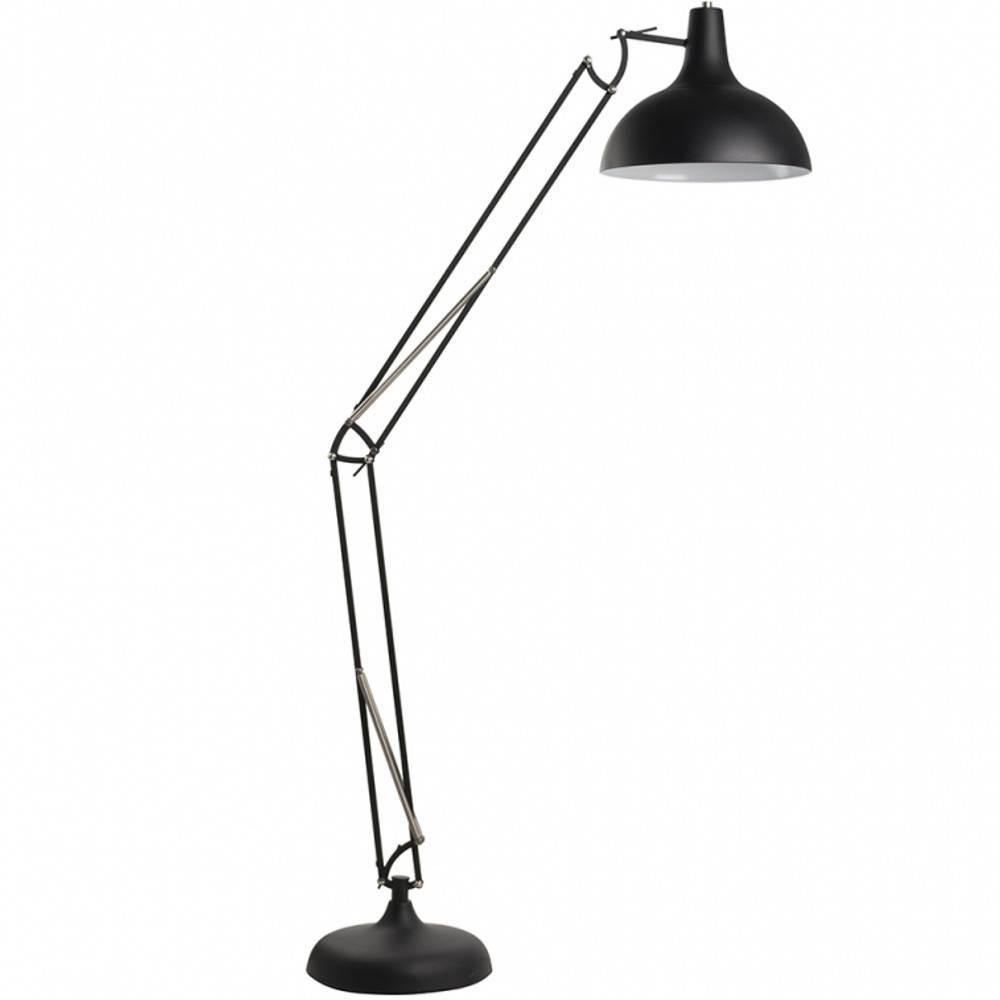 WHITE LABEL LIVING lampadaire OFFICE noir