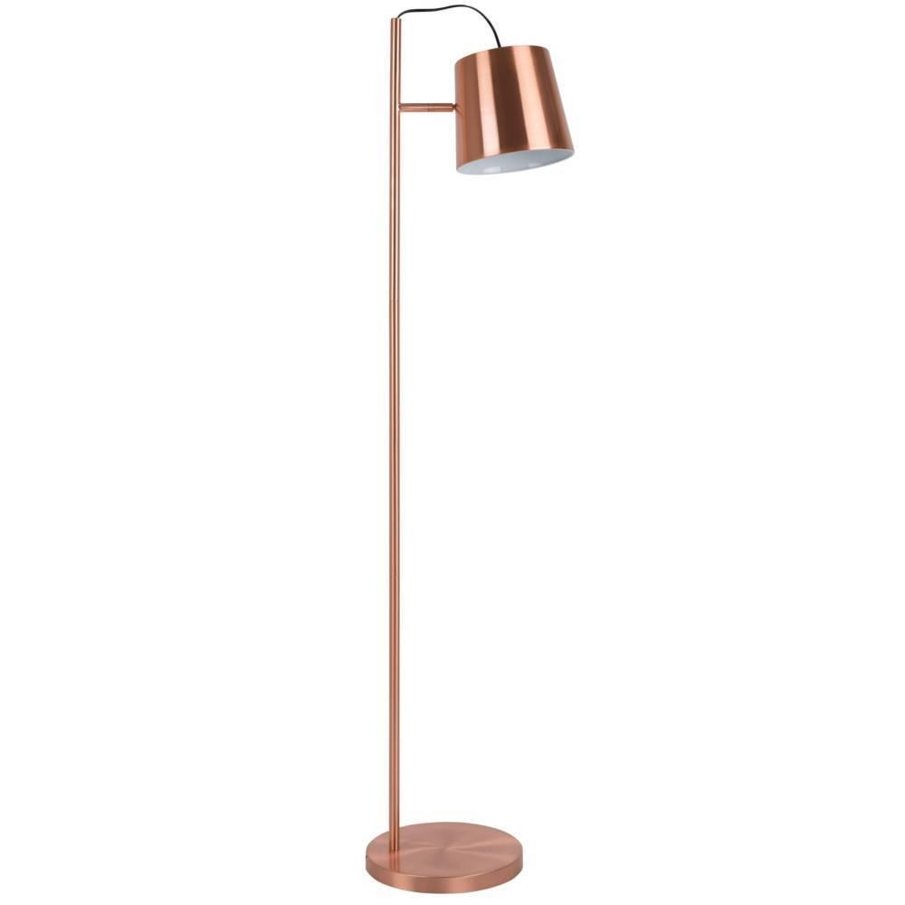 lampadaires luminaires zuiver lampadaire design buckle en cuivre inside75. Black Bedroom Furniture Sets. Home Design Ideas