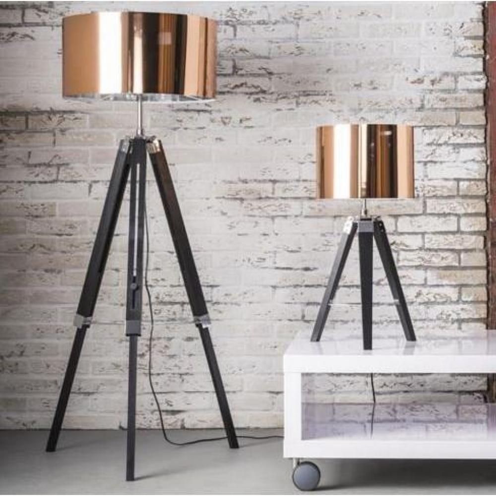 Lampadaire DIM design en cuivre