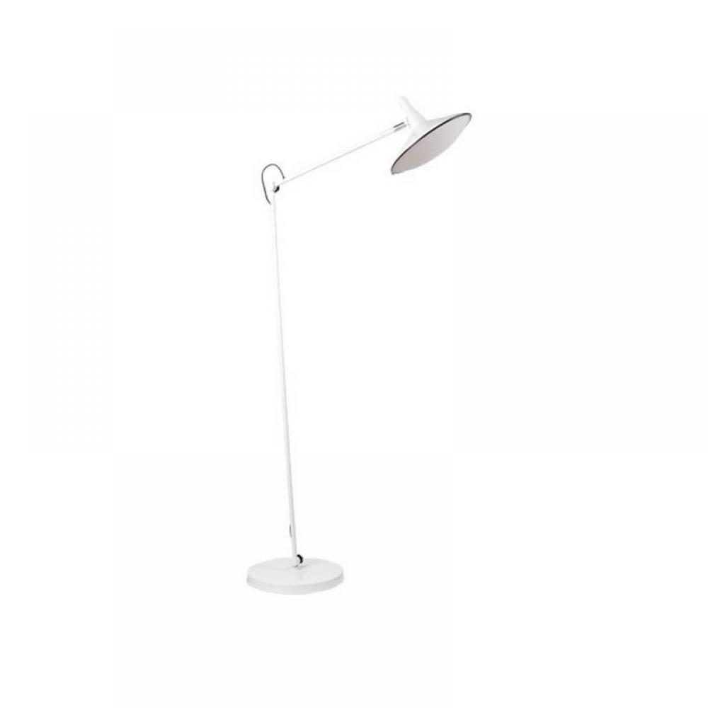 ZUIVER Lampadaire  Mc FLY blanc.