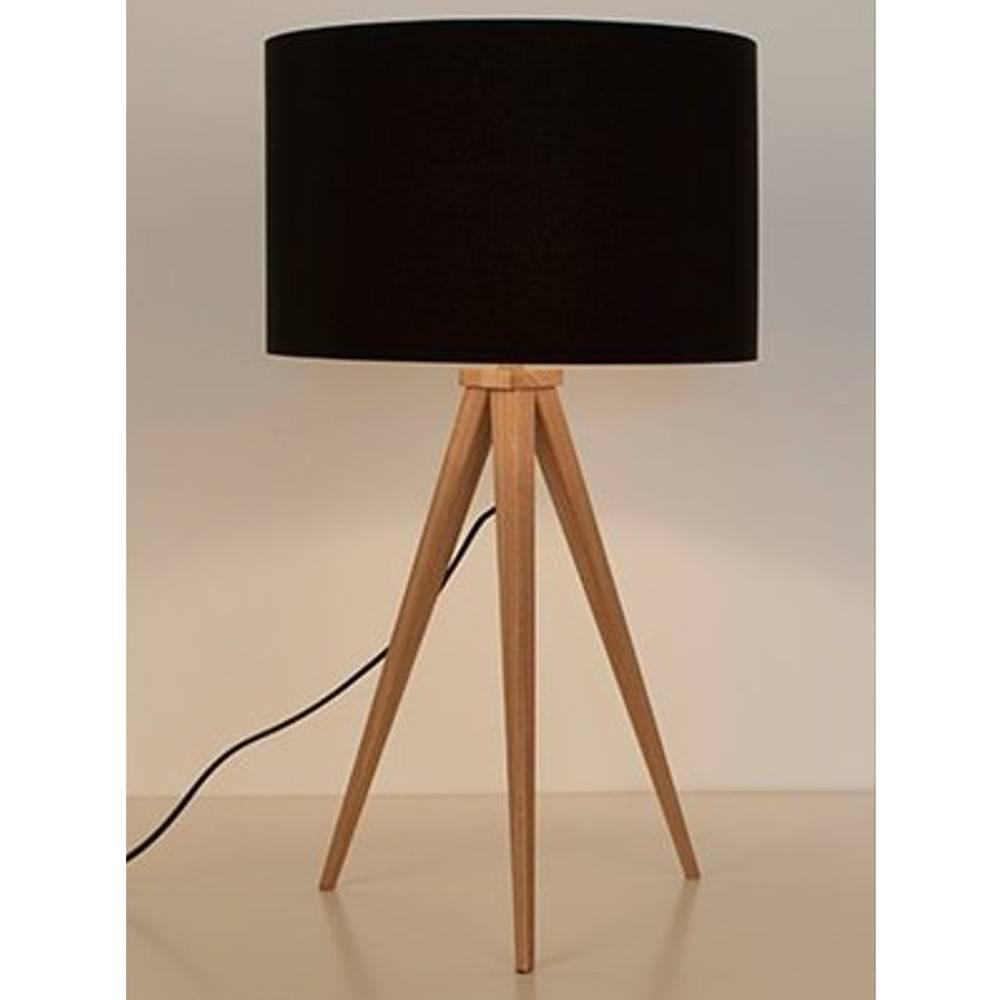 ZUIVER Lampe TRIPOD  en bois.