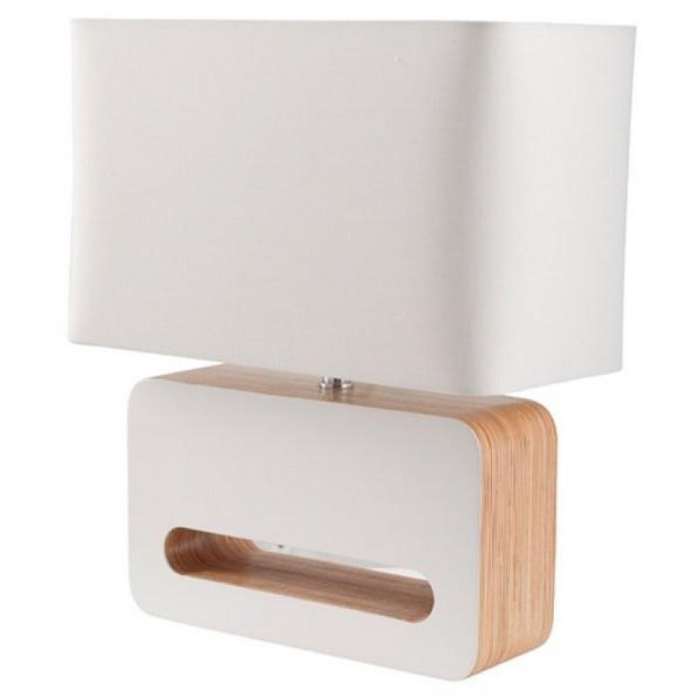ZUIVER Lampe  WOOD Blanche