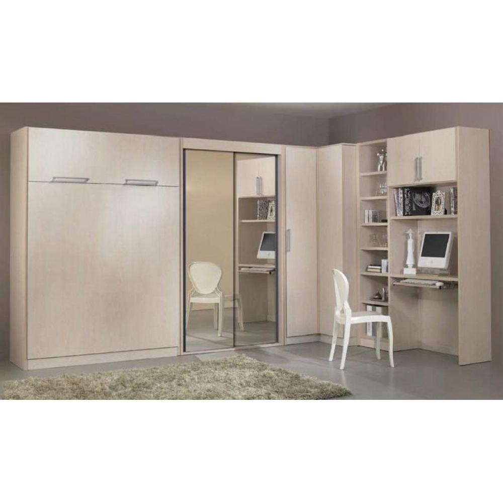 Armoire lit escamotable verticale au meilleur prix armoire lit escamotable lausanne inside75 - Armoire lit escamotable but ...