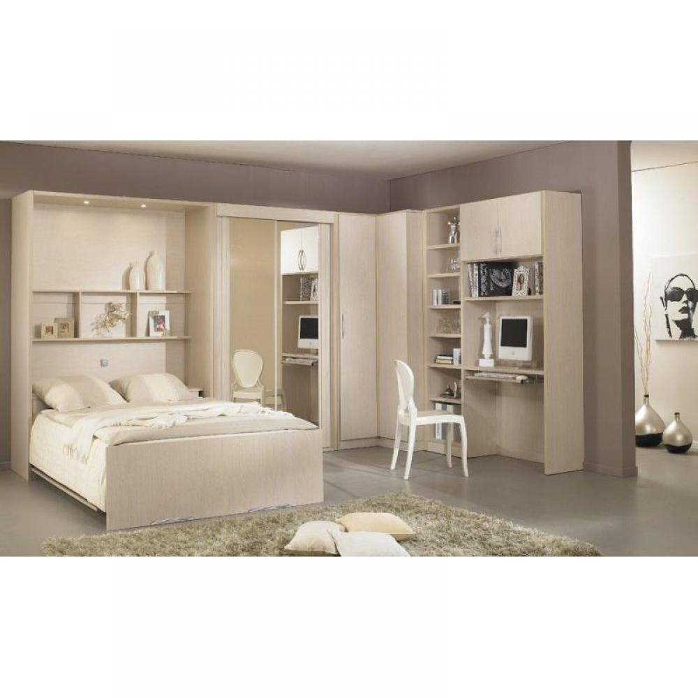 armoire lit escamotable verticale au meilleur prix armoire lit escamotable lausanne inside75. Black Bedroom Furniture Sets. Home Design Ideas