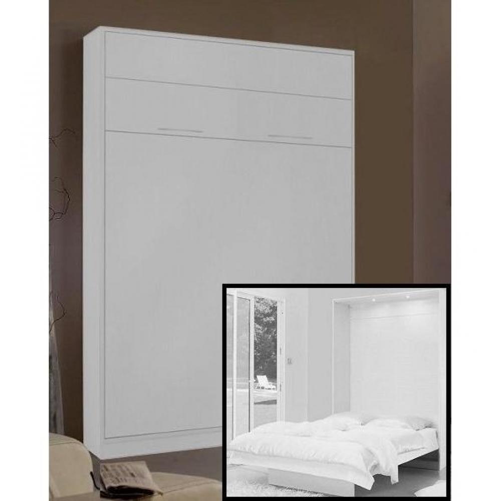 Armoire lit escamotables au meilleur prix armoire lit for Matelas pour lit escamotable