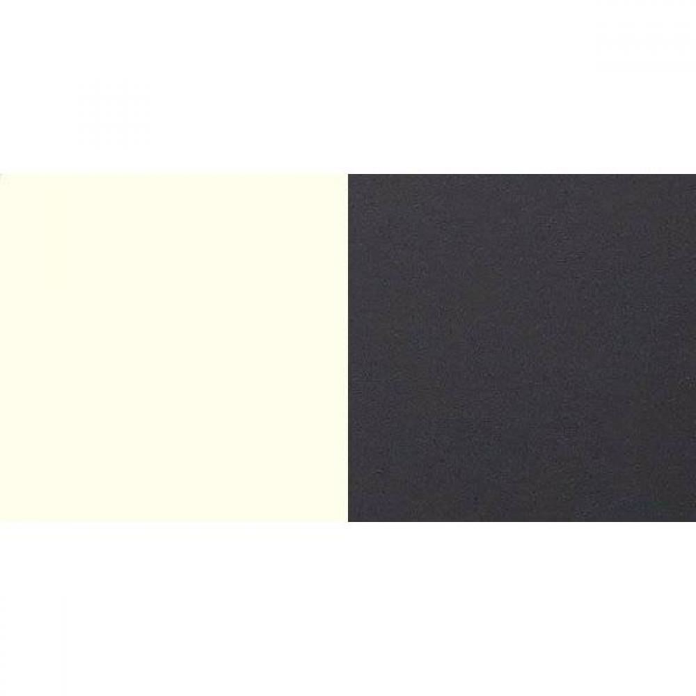 Lit THALIA 140*200cm avec 2 chevets blanc/anthracite