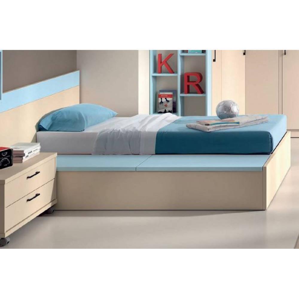 canap s convertibles ouverture rapido ensemble sommier coffre relevable belladona 90 x 190cm. Black Bedroom Furniture Sets. Home Design Ideas