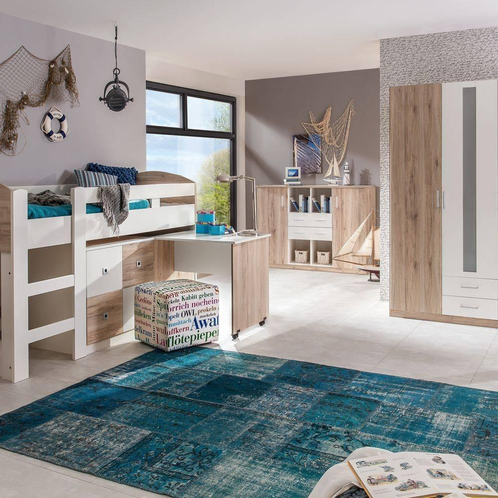 lits enfant chambre literie lit mi haut compact dory ch ne blanc inside75. Black Bedroom Furniture Sets. Home Design Ideas