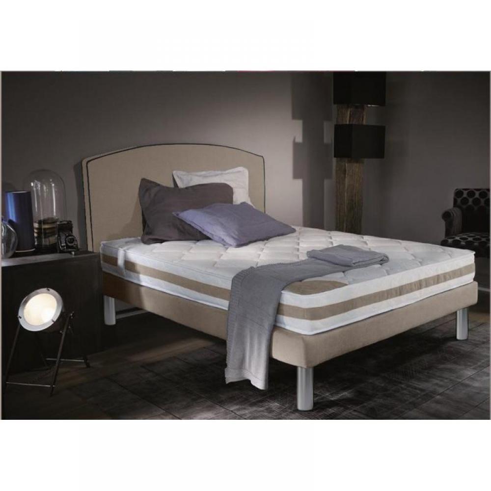 lits chambre literie ensemble de lit arche 90 190 cm pieds croma large choix de coloris. Black Bedroom Furniture Sets. Home Design Ideas