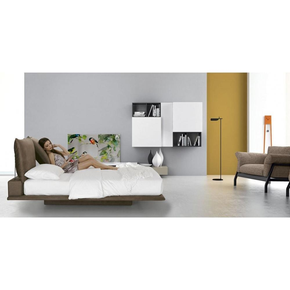 tete de lit design italien simple lit design capitonn pu blanc avec coffre en option soma with. Black Bedroom Furniture Sets. Home Design Ideas