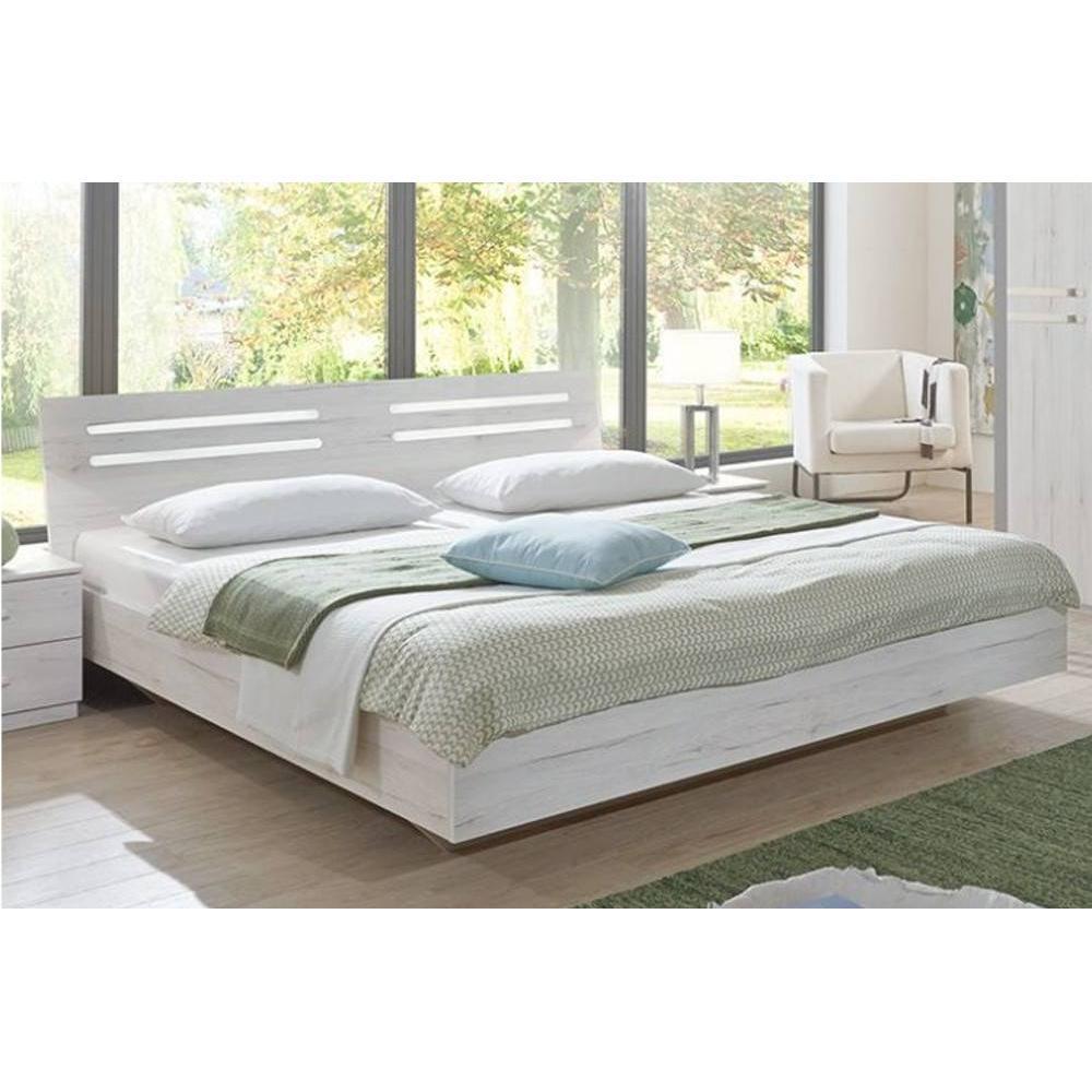 lits chambre literie lit design idaho ch ne blanc 140 200cm inside75. Black Bedroom Furniture Sets. Home Design Ideas