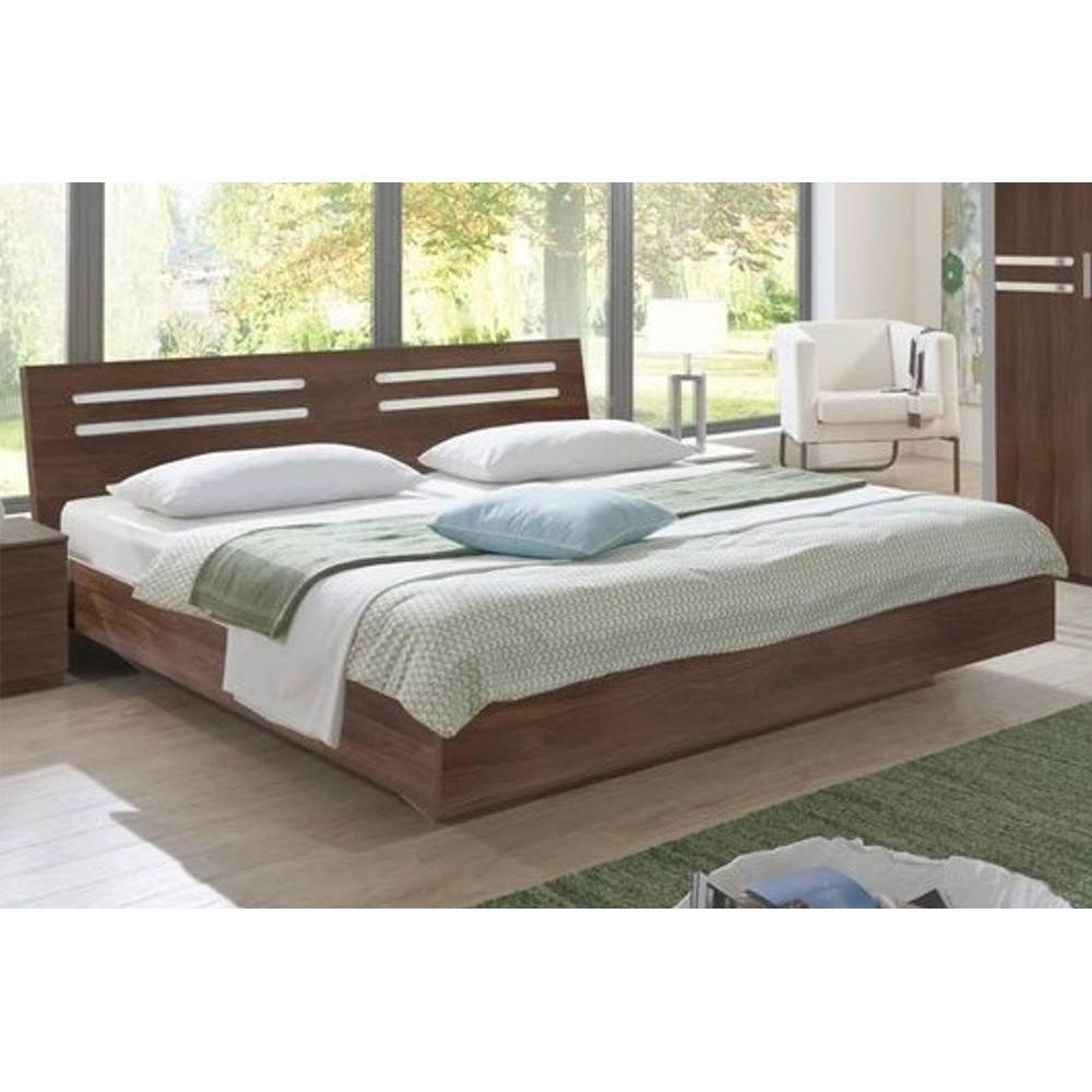 lit design idaho noyer 180 200cm ebay. Black Bedroom Furniture Sets. Home Design Ideas
