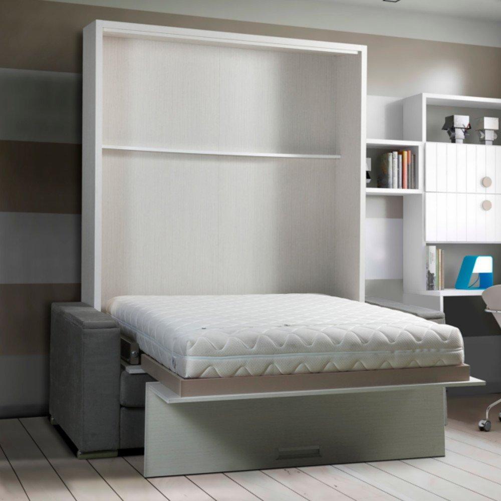armoire lit escamotable avec canap int gr au meilleur prix armoire lit escamotable lyon. Black Bedroom Furniture Sets. Home Design Ideas