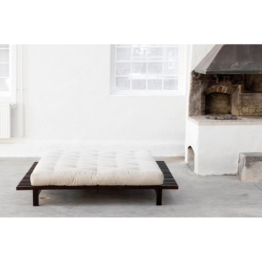 lits futon chambre literie inside75. Black Bedroom Furniture Sets. Home Design Ideas