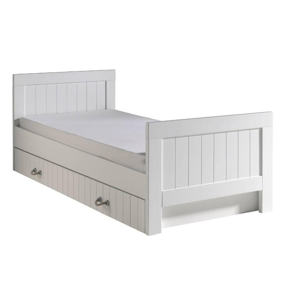 lits gigognes chambre literie lit gigogne diesel blanc. Black Bedroom Furniture Sets. Home Design Ideas